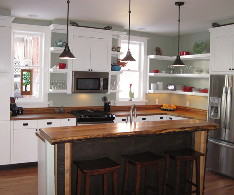 Allen residence kitchen
