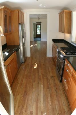 Kitchen From Back Door Furman