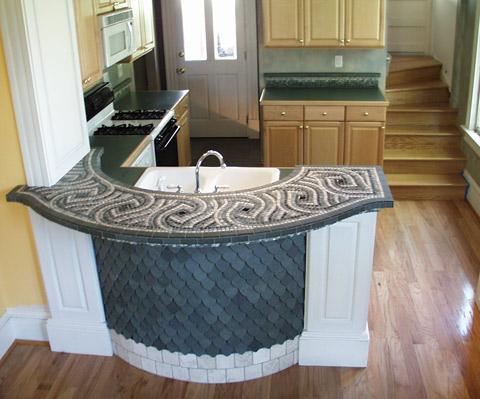 Mosaic Bar Top